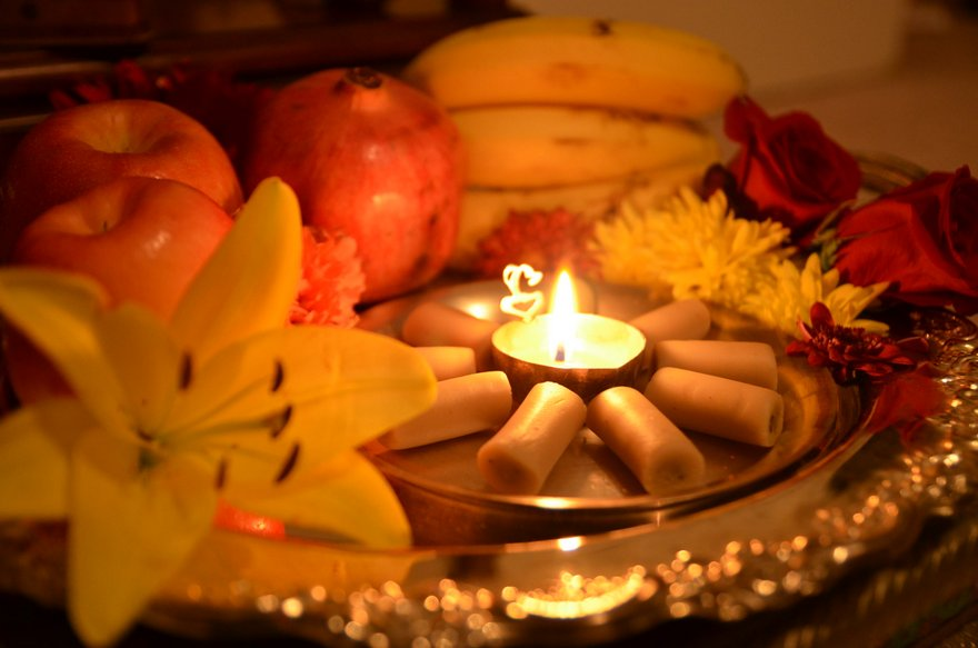 Why is Ghee Preferred to Oil for Puja Lamp?